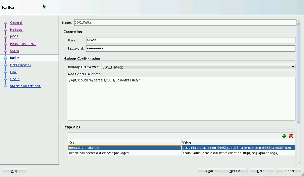 Introduction and configuring Oracle Data Integrator for Big Data