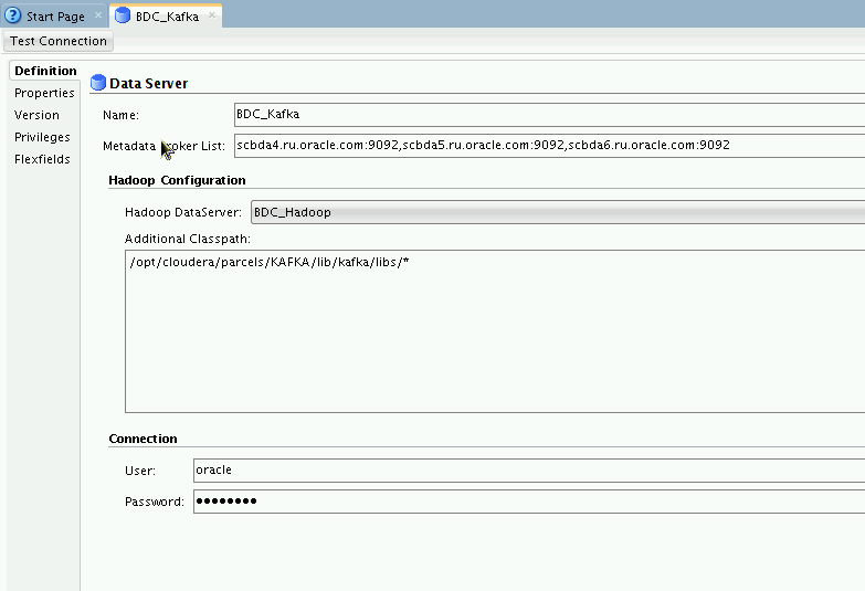 Introduction and configuring Oracle Data Integrator for Big